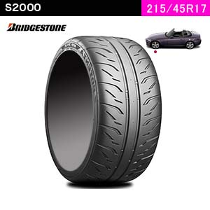 BRIDGESTONE POTENZA RE-71R 215/45R17 91 W XL(フロント)