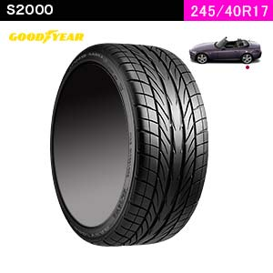 GOOD YEAR EAGLE REVSPEC RS-02 245/40R17 91 W(リア)