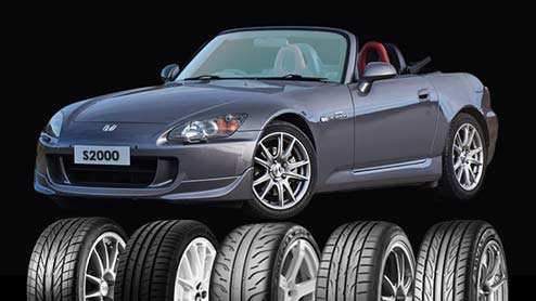 S2000のタイヤ~FRオープンカーにおすすめのスポーツタイヤ/低燃費タイヤ5選