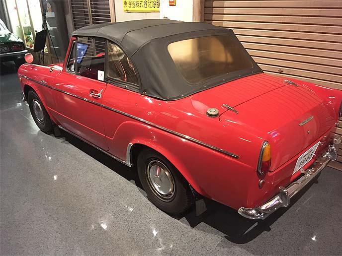 パブリカコンバーチブルUP10S型 1965年式