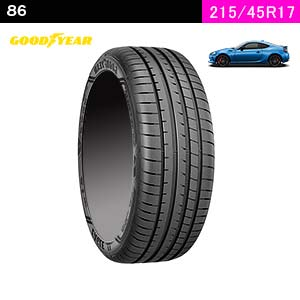 GOODYEAR EAGLE F1 ASYMMETRIC 3 215/45R17 91Y XL(フロント)