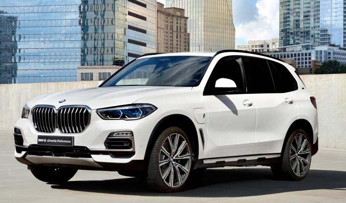 BMW新型X5 PHVのエクステリア