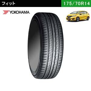 フィットにおすすめのYOKOHAMA BluEarth-A 175/70R14 84Hのサマータイヤ