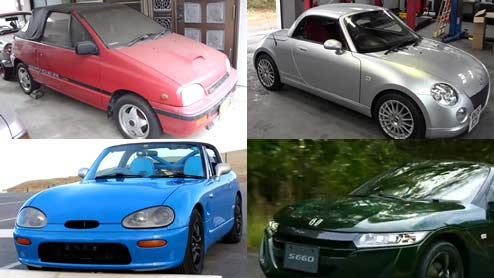 軽自動車のオープンカーはどんな車がある?新車のほかにも中古車も在庫が豊富で選ぶ楽しみもある