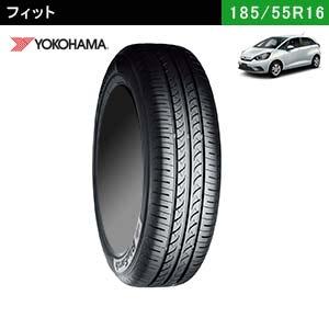 フィットにおすすめのYOKOHAMA BluEarth AE-01F 185/55R16 83Vのタイヤ