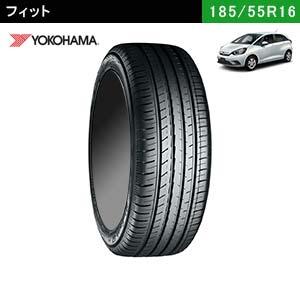 フィットにおすすめのYOKOHAMA BluEarth-GT AE51 185/55R16 83Vのタイヤ