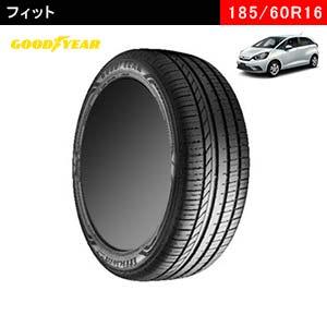 フィットにおすすめのGOODYEAR EfficientGrip Comfort 185/60R16 86Hのタイヤ