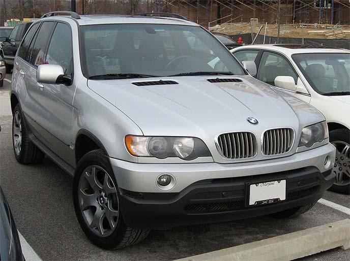 BMW X5初代