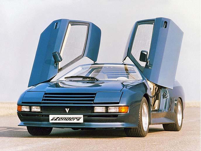 ツェンダー Vision 1S 1983年式