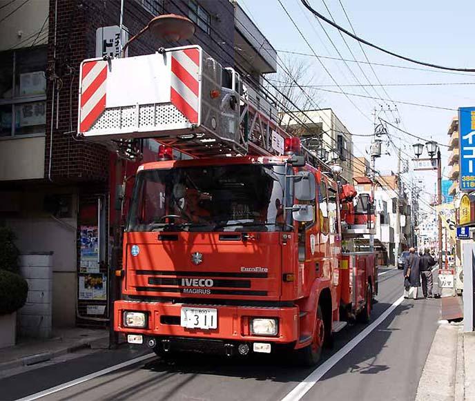 イヴェコ・マギルスの消防車