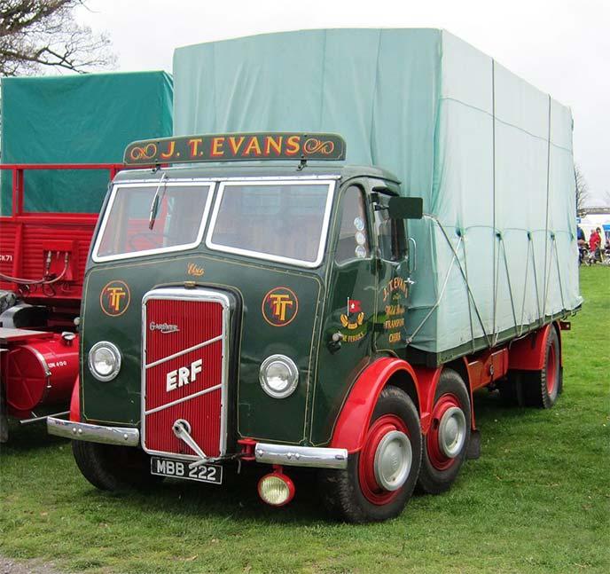 MAN ERF 1947製トラック