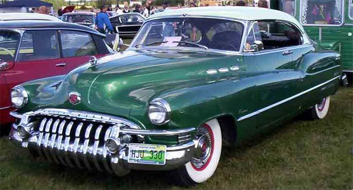 ビュイック・リビエラ1950年モデル