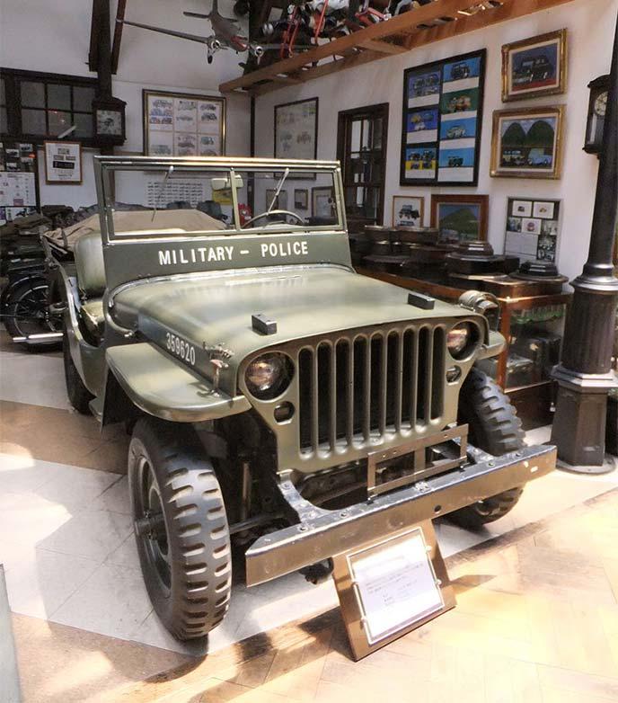 ジープ第二次世界大戦モデル