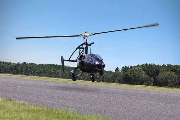 PAL-V ONEの飛行シーン