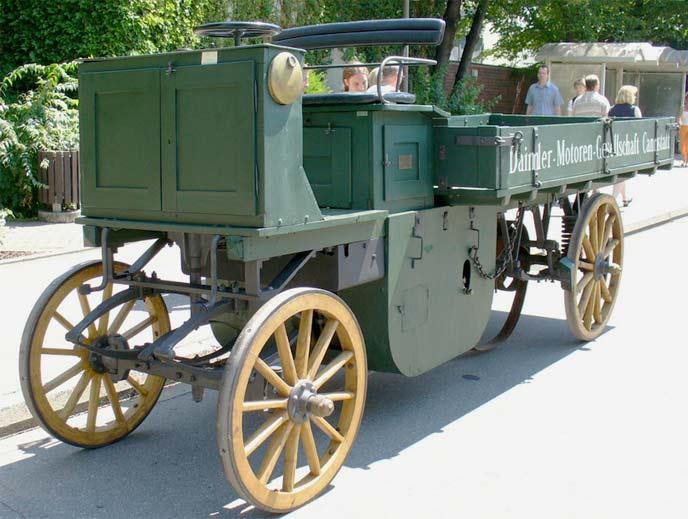 ゴットリープ・ダイムラーが製造した自動車