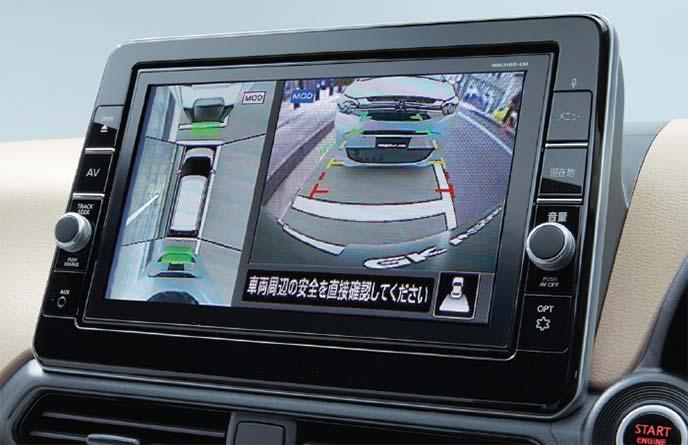 新型eKワゴン ディーラーオプションのオリジナルナビゲーション