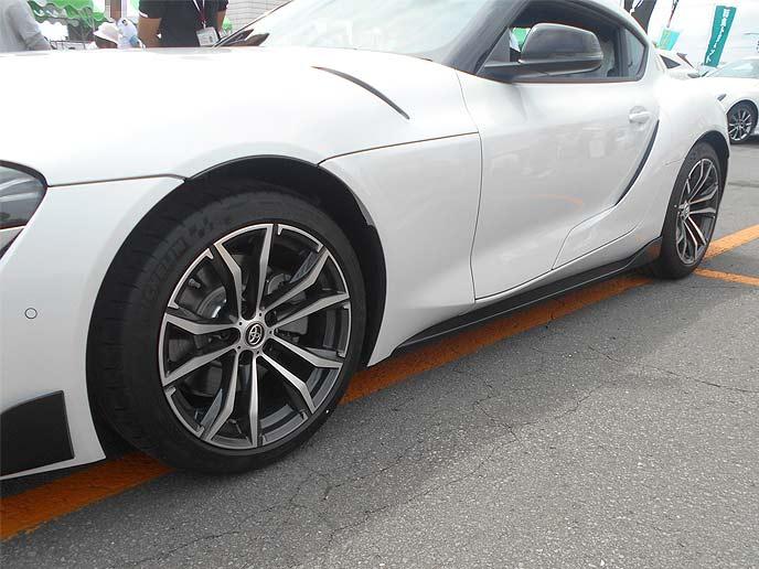 GRスープラの新品タイヤへと交換するタイミング