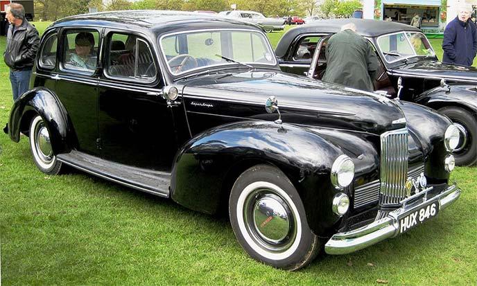 1949年式ハンバー・スーパー・スナイプ マーク2