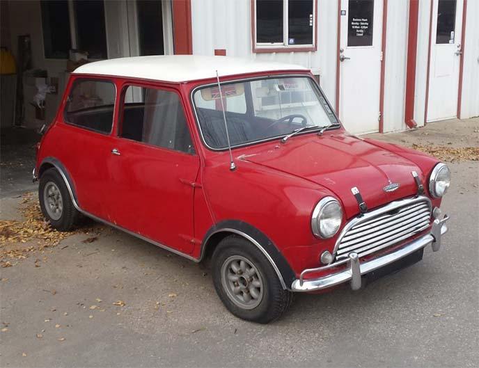 Austin Mini Cooper Mk1(1963年式)