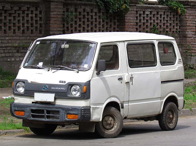 スバル サンバー バン550後期型