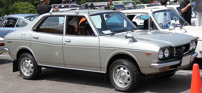 初代 スバルレオーネ1600 4WD