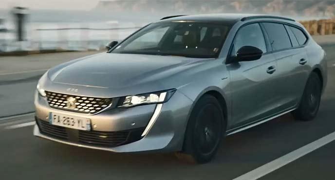 新型プジョー新型「508 SW(Peugeot 508SW)