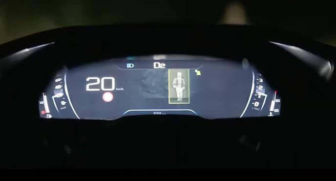 新型プジョー新型「508 SW(Peugeot 508SW)のコックピット