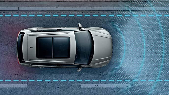フォルクスワーゲン「Volkswagen オールイン・セーフティ」コンセプトの機能イメージ