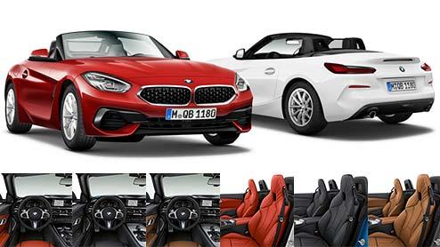 BMW新型Z4の内装は走り屋を虜にするドライバー主体のインテリア設計