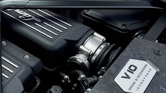 デトマソ パンサーのエンジン