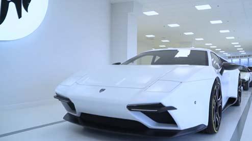 デ・トマソ・パンテーラが復活!アレスデザインによるウラカンベースのカスタムカー