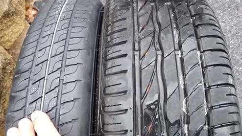 テンパータイヤとは?トランク床下に収納されている応急用タイヤで長時間履き続けるのは厳禁