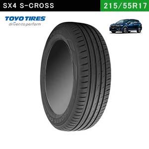 SX4におすすめのTOYO TIRES PROXES CF2 SUV 215/55R17 94Vの夏タイヤ