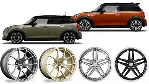 BMW MINI(ミニ)のホイールおすすめは?適合するアルミホイール