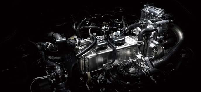 ボンゴブローニイバンのディーゼルエンジン