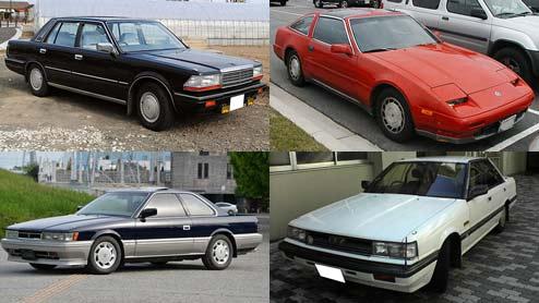 あぶない刑事の車!レパードからGT-Rまでシリーズ30年間の劇中車一覧