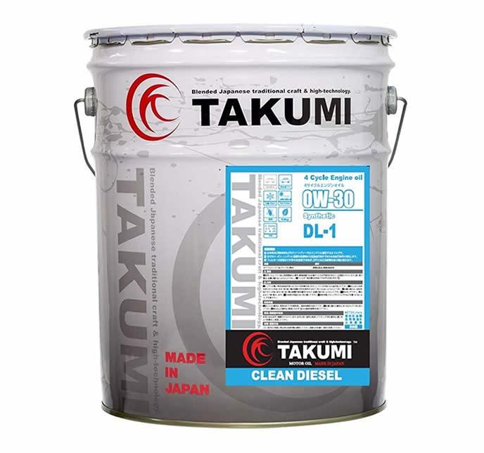 おすすめエンジンオイルのTAKUMI CLEAN DIESEL series