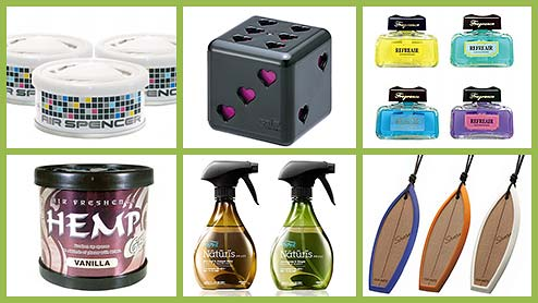 車の芳香剤ベスト35!リピ買い率の高い口コミでも人気のおすすめ商品