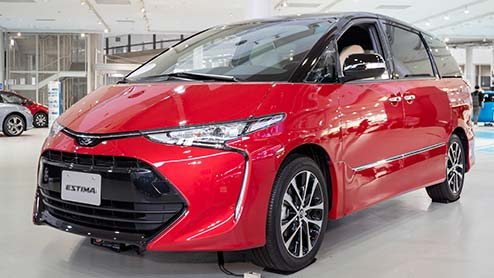 エスティマのフルモデルチェンジは2021年 次期モデルは燃料電池車(FCV)で開発