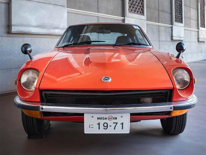 フェアレディZ 432 PS30型 1971年式のフロントビュー