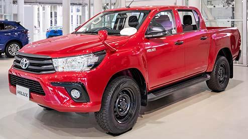 ハイラックスがマイナーチェンジ 新型ピックアップトラックの見た目や装備・価格帯