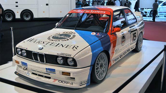 BMW M3 E30型 ドイツツーリングカー選手権1989年シリーズチャンピオンマシン
