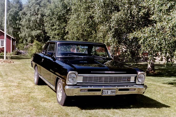 2代目シェビー2・ノヴァ(1966~1967)
