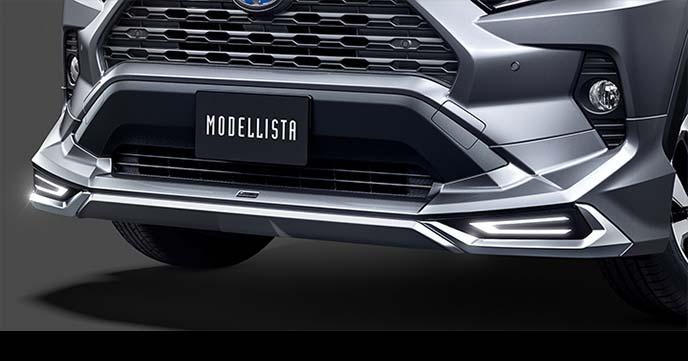 MODELLISTA RAV4用 フロントスポイラー