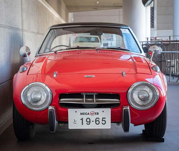 トヨタ スポーツ800(TOYOTA S800 UP15 1965年式)のフロントビュー
