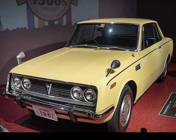 トヨタ 1600GT RT55型 1967年式のフロントビュー
