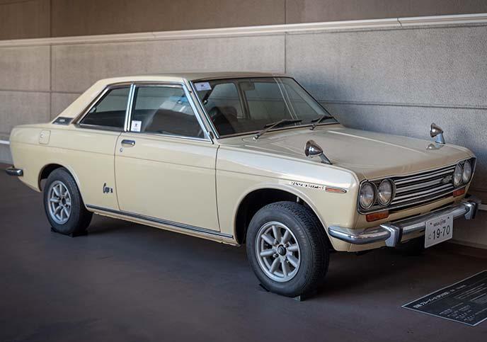 ダットサン ブルーバード1600 SSS P510型 1970年式のサイドビュー