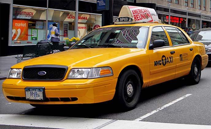 クラウンビクトリアのタクシー車