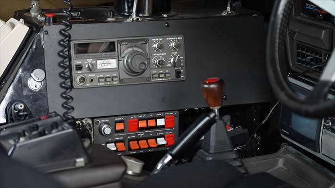 マシンXの内部の特殊装置
