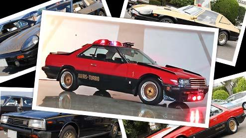 西部警察の車を覚えてる?スーパーマシンやパトカー採用の劇中車一覧